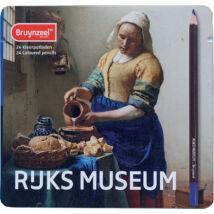 Bruynzeel 24 db-os színes ceruza készlet Vermeer: Tejet öntő nő, RIJKS MUSEUM