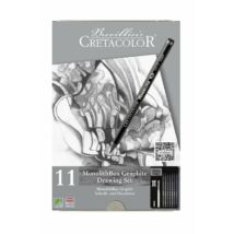 Cretacolor MonolithBox 11 db-os grafit rajzkészlet