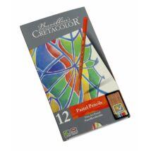 Cretacolor Pastel Pencils 12 db-os pasztellceruza készlet