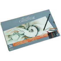 Cretacolor Teacher's Choice 26 db-os rajzkészlet