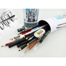 Cretacolor Urban Sketching 24 darabos vázlatkészlet