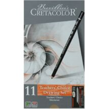 Cretacolor Teacher's Choice kezdő rajzkészlet 11 darabos