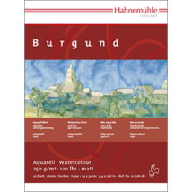 Hahnemühle Burgund matt blokk 250 g/m²