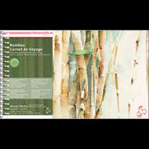 Hahnemühle Bamboo bambusz utazó tömb 265 g/m2