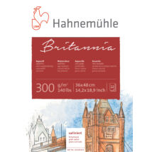 Hahnemühle Britannia szatén blokk 300 g/m2 (HP)