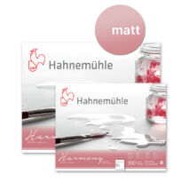 Hahnemühle Harmony akvarelltömb 300 g/m² C. P. (matt), 12 lap