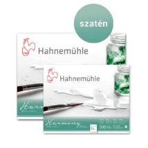 Hahnemühle Harmony akvarelltömb 300 g/m2 H. P. (szatén), 12 lap