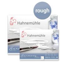 Harmony akvarelltömb - Hahnemühle ROUGH 300 g/m²,  12 lap