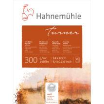 Hahnemühle William Turner mould made akvarell tömb, matt, 300 g/m2, 100% pamut