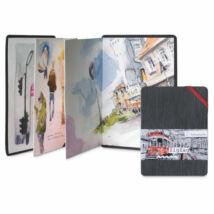 Hahnemühle ZigZag harmónika stílusú akvarelltömb  300 g/m2, A5 álló