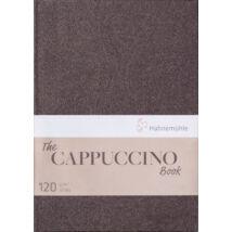 Hahnemühle Cappuccino Book kávé színű skicc papír tömb 120 g/m²