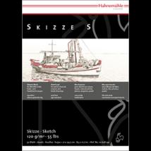 Hahnemühle Skizze S skicc tömb 120 g/m2
