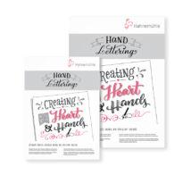 Hahnemühle Hand Lettering kalligráf tömb 170 g/m²
