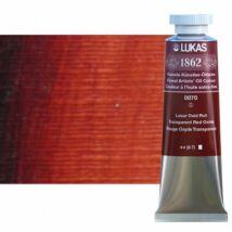 Lukas 1862 olaj 0070 transzparensvörös-oxid (Transparent Red Oxide)
