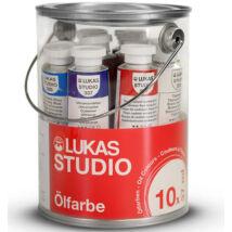 Lukas Studio olaj 10 × 37 ml Készlet vödörben