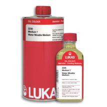 Lukas vízzel keverhető olajfesték médium No. 7