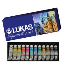 Lukas Aquarell 1862 készlet 12 × 10 ml