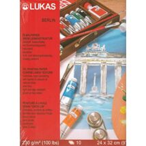 Lukas Berlin Olaj és akril tömb 230 g/m² 24×32 cm