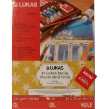 Lukas Berlin olaj és akril tömb 4 darabos Christmas set 230 g/m² 24 × 32 cm