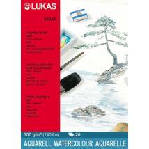 Lukas Osaka matt 300 g/m2 36 × 48 cm akvarellpapír tömb