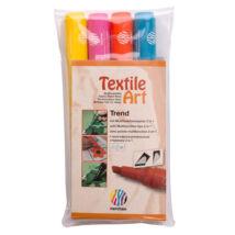 Nerchau Textile Art textilfilc - készlet TREND 4 darabos