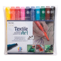 Nerchau Textile Art textilfilc - készlet 10 darabos