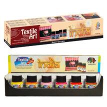 Nerchau 6 × 20 ml India textilfestő kezdőkészlet