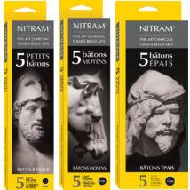 Nitram extra soft professzionális rajzszén