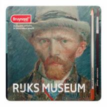 Bruynzeel 24 db akvarellceruza készlet Van Gogh Önarckép + ajándék akvarel ecset