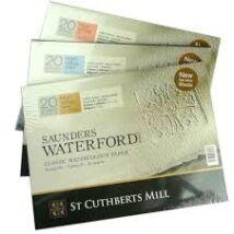 Saunders Waterford festő blokk 300 g/m2 (mould made)
