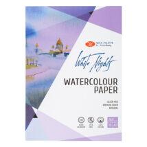 White Nights akvarelltömb A/3, közepesen szemcsés, 70%, pamut, 260 g/m2