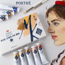 Master Class 8×18 ml-es portré válogatás professzionális olajfesték készlet