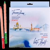 White Nights 48 db-os akvarell ceruza készlet, Nevskaya Palitra