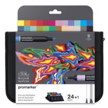 ProMarker Winsor&Newton 24 db-os filctoll készlet válogatás művészeknek és illusztrátoroknak (Arts & Illustration)