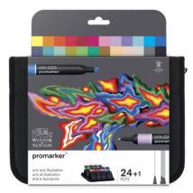 ProMarker Winsor&Newton 24 db-os filctollkészlet válogatás (Arts & Illustration)