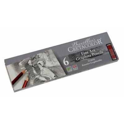 Cretacolor Fine Art grafitceruza 6 db-os készlet