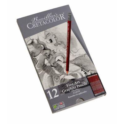 Cretacolor Fine Art grafitceruza 12 db-os készlet