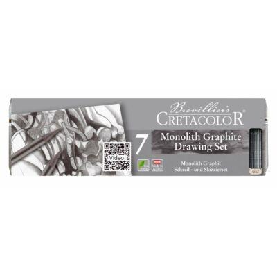 Cretacolor Monolith 7 db-os grafit rajzkészlet