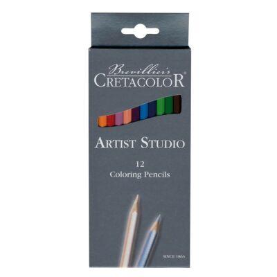 Cretacolor Artist Studio 12 db-os színes ceruza készlet