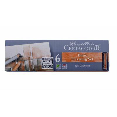 Cretacolor Primo 6 db-os alap ceruza készlet
