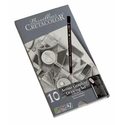 Cretacolor Artino Graphite 10 db-os rajzkészlet