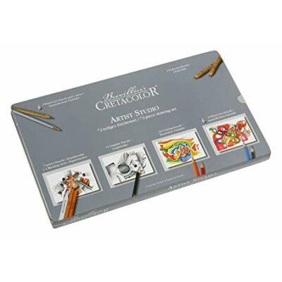 Cretacolor Artist Studio 72 db-os vázlat- és rajzkészlet