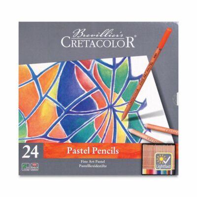 Cretacolor Pastel Pencils 24 db-os pasztellceruza készlet