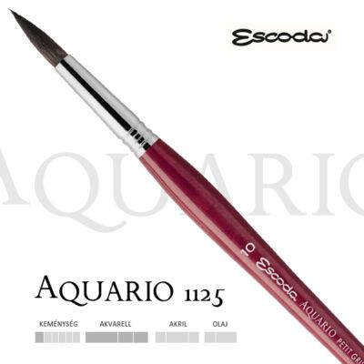 Escoda Aquario 1125 mókus szőr akvarell ecset 2