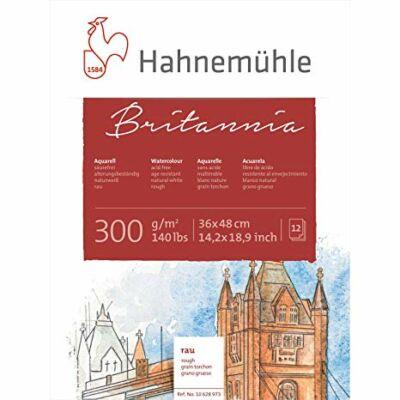 Hahnemühle Britannia Rough blokk 300 g/m2