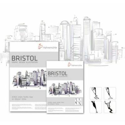 Hahnemühle Bristol grafika, dizájn, illusztráció, manga tömb 250 g/m2