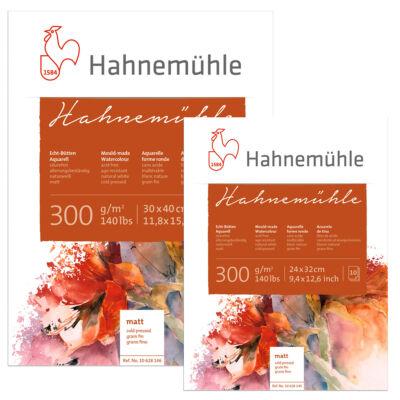 2 db különböző méretű Hahnemühle akvarelltömb egymásra helyezve