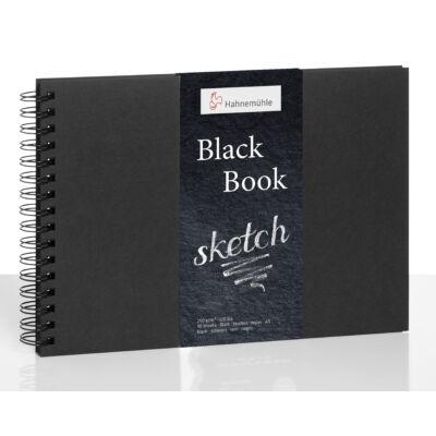Hahnemühle Black Book rajztömb A/5 fekvő 250 g/m2