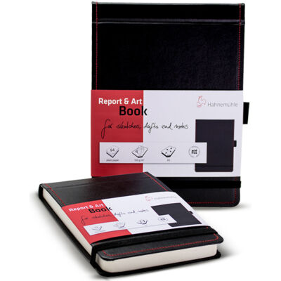 Report & Art Book - Hahnemühle skicctömb 130 g
