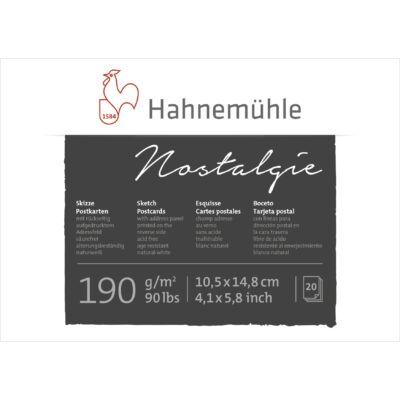 Hahnemühle Nostalgie képeslaptömb 190 g/m2